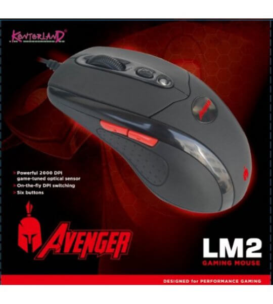 Mouse LM2 2000 Dpi Gaming Mouse