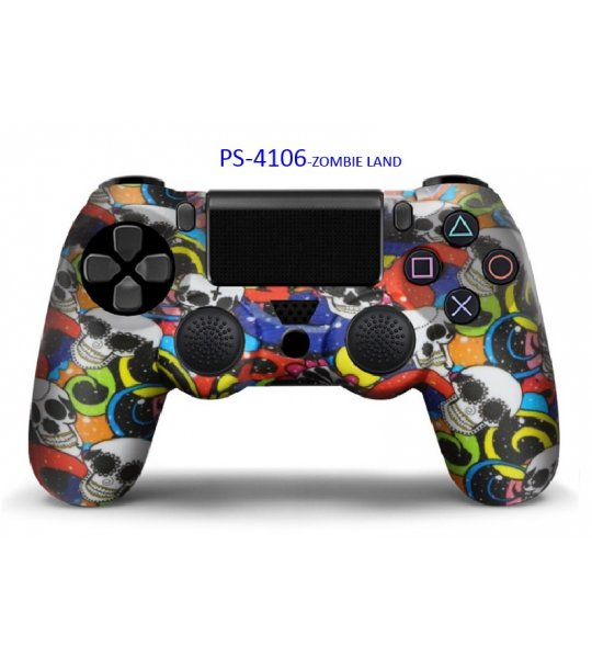 PS-4106Z PS4 V4 KABLOSUZ GAMEPAD (ZOMBIE LAND)